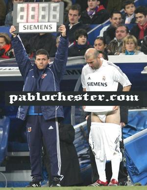 Zinedine Zidane Underwear