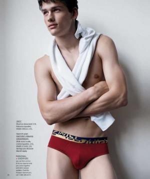 simon nessman underwear model for 2xist