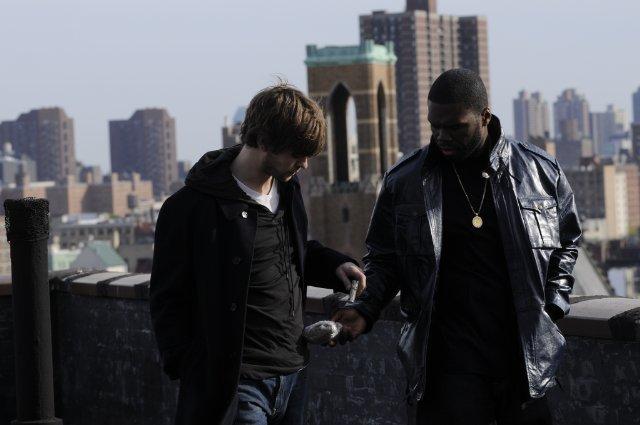 50 Cent Leather Jacket twelve movie