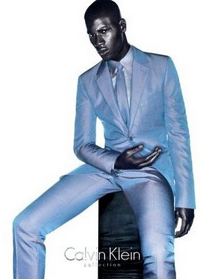 male models in suits by calvin klein david agbodji
