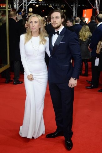 aaron taylor-johnson wife - sam taylor-johnson