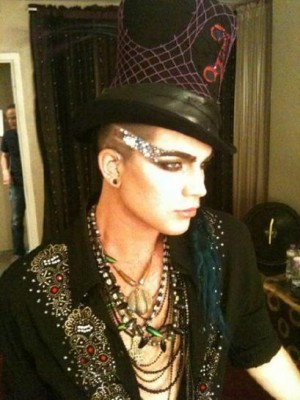 Adam Lambert Fashion Style hat