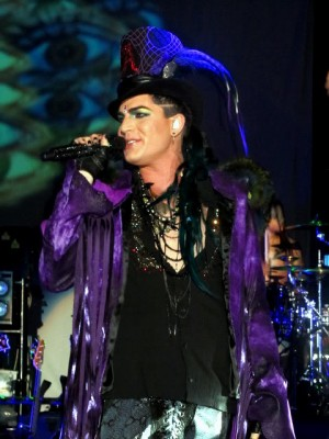 Adam Lambert Fashion Style top hat
