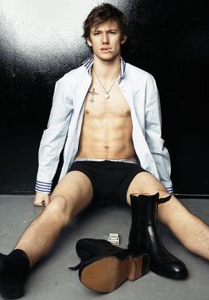 alex pettyfer underwear washboard abs