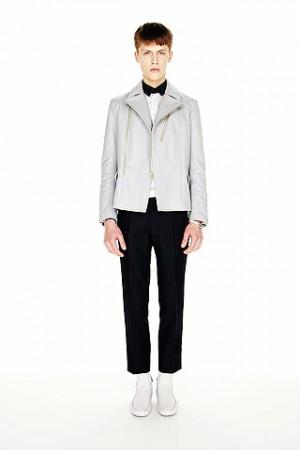 balenciaga leather jacket for men