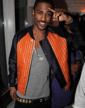 male celebrities wearing balenciaga leather jacket