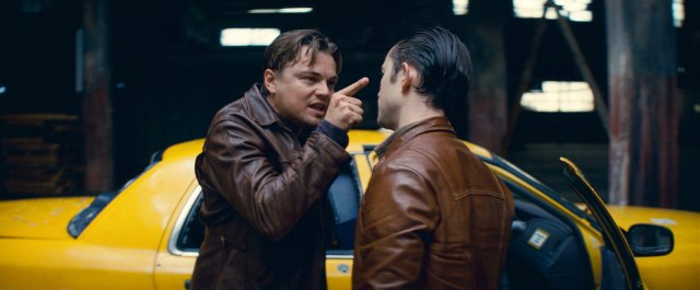 inception leather jacket dom cobb leo dicaprio