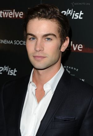 Chace Crawford Suit No Tie red carpet