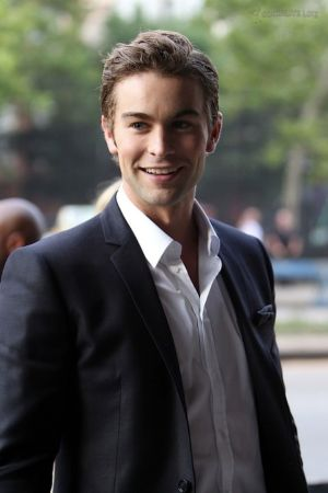 Chace Crawford Suit No Tie Fashion Style