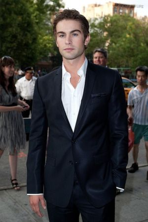 Chace Crawford Suit No Tie