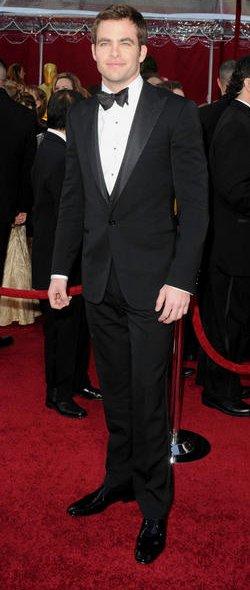 Red Carpet Suits for Men Chris PIne