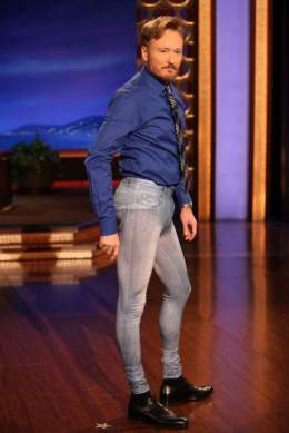 too old for skinny jeans - conan o brien