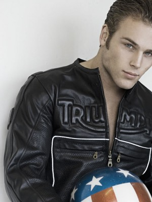 craig malozzi model leather jacket