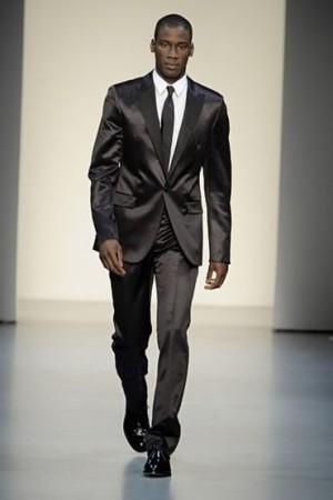 David Agbodji calvin klein suit