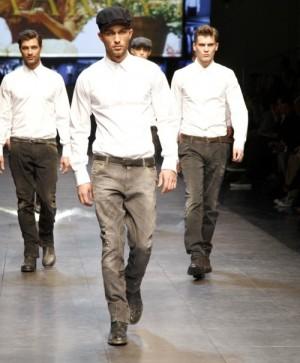 male models dolce gabbana jeans for men
