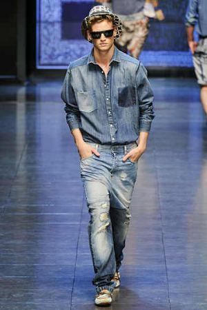 prefaded dolce gabbana jeans for men
