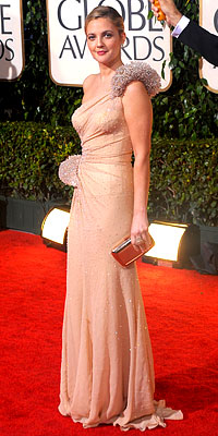 drew barrymore fashion style red carpet