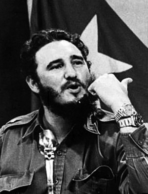 fidel castro wearing two rolex watches
