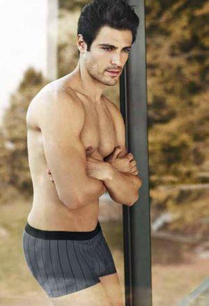 swiss mens underwear model