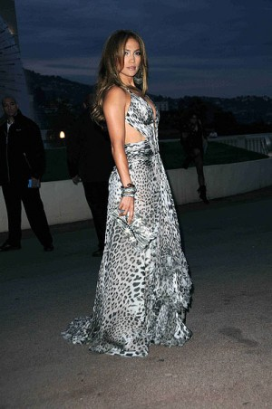 leopard print dresses jennifer lopez