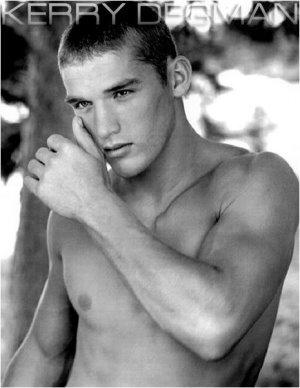 kerry degman american male model
