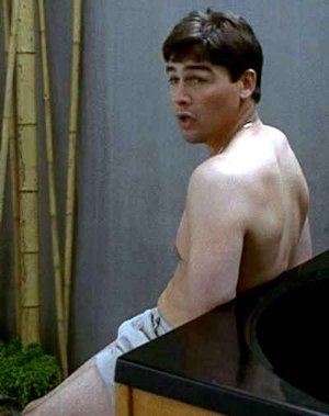 kyle chandler shirtless in short shorts