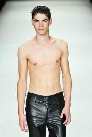 black leather pants for men