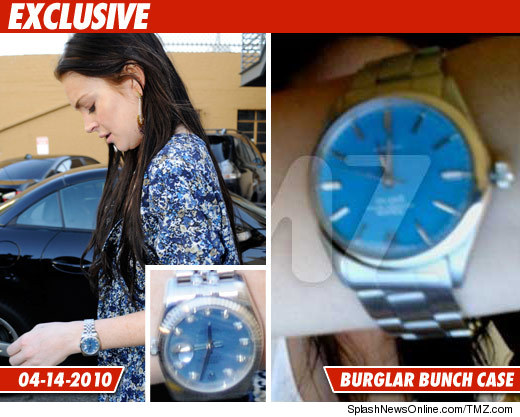 lindsay lohan rolex for girls watch