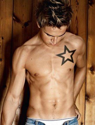 mcfly boys underwear - tom fletcher sunspel underwear