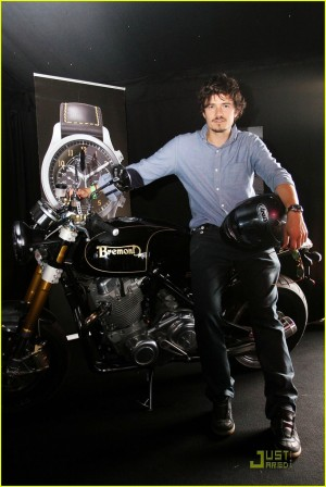 orlando bloom watch collection bremont goodwood festival