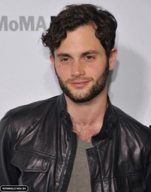 penn badgley style leather