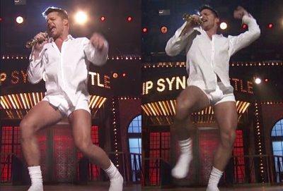 ricky martin underwear white boxer briefs