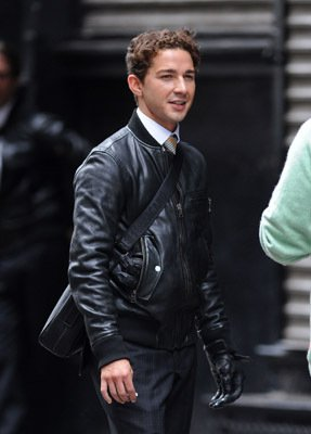 Shia La Beouf Leather Jacket