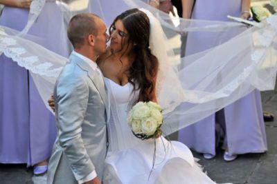 Yolanthe Cabau Wedding Wesley Sneijder