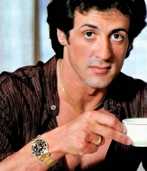 sylvester stallone watch - rolex submariner