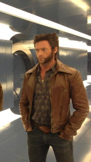wolverine leather jacket - x men days of future