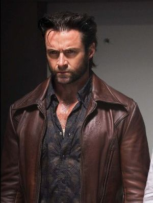 xmen logan leather jacket - days of future past - hugh jackman 2