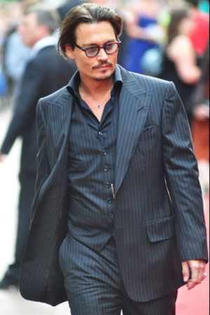 piece suits for men johnny depp