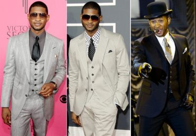 three piece suits for men usher