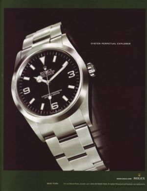 vintage rolex advertisments