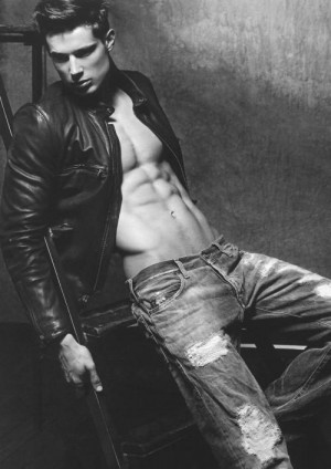 hot men in jeans by armani