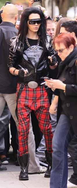 celebrities wearing dior homme sunglasses bill kaulitz