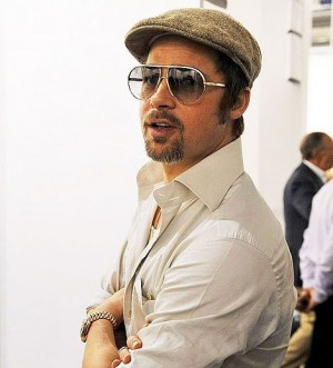 brad pitt rolex watch collection day date