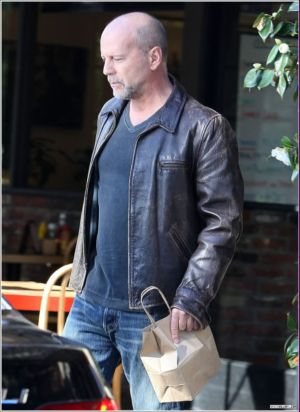 bruce willis leather jacket in movies the surrogate