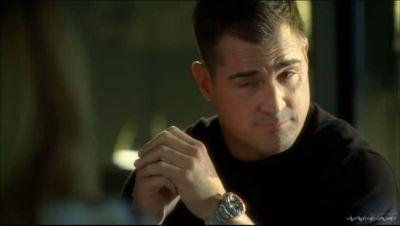 actors wearing rolex - george eads in CSI_RolexGMT2
