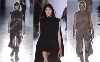 Men Who Wear Womens Dresses Designer Options - Rick Owens