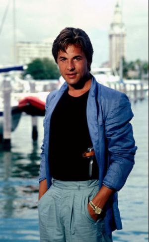 young don johnson in miami vice wearing rolex