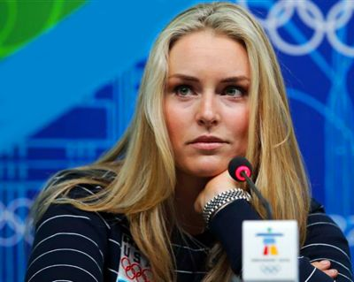 Celebrities Wearing Rolex Lady Datejust Watches Lindsay Vonn