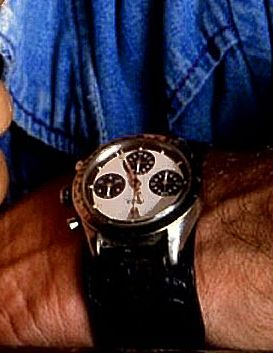 paul newman with rolex daytona watch
