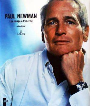 why paul newman associated with rolex daytona